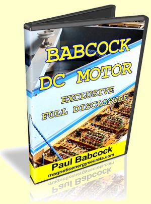 Babcock DC Motor Disclosure